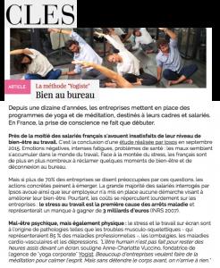 Clés Magazine le 17 novembre 2015